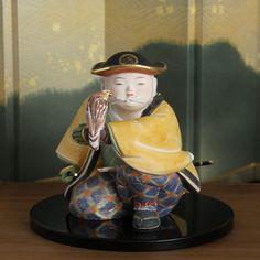 Hakata doll by Moshiro Tobata(戸畑茂四郎) / 「鷹匠」五月人形