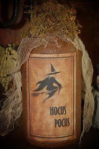 Hocus Pocus Grunged Jar