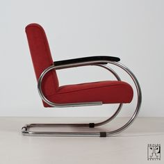 Streamline armchair in the style of the German Modernism - Image 3