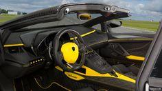 2014 Mansory Carbonado Apertos based on Lamborghini Aventador Roadster  - Interior - Picture # 4