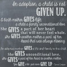 Today is #NationalAdoptionDay I just want to send my love  to all those parents that have adopted , chose for their kids to be adopted , and to all the kids that were adopted !! You are all loved more than you know!!
