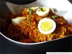 Tin Fish Biryani Recipe - Food like Amma used to make it Fish Recipes, Indian Food Recipes, Ethnic Recipes, Indian Desserts, Curry Recipes, Vegetable Biryani Recipe, Fish Biryani, Thyme Recipes, Fish Sandwich