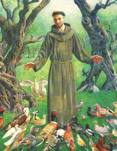 St. Francis Lover of Animals | St. Francis of Assisi, lover of all creation, champion of justice ...