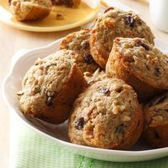 Walnut Zucchini Muffins Recipe from Taste of Home -- shared by Harriet Stichter, Milford, Indiana