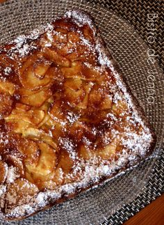 Clafoutis aux pommes golden ~ translate to English when on the recipe page.