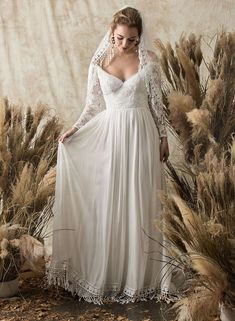 Tendance Robe du mariée 2017/2018  Dreamers and Lovers boho lace wedding dress vintage wedding dress    #laceweddin
