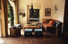 Moroccan Themed outside area