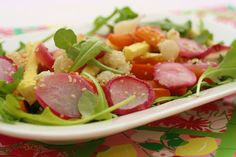 Roasted Vegetable Salad Recipe with Hemp Seeds from Clean Cuisine. www.cleancuisineandmore.com