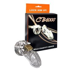 CB-6000 Male Chastity Device is only £89.99 at Sex Depot