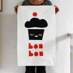 cute tea towel