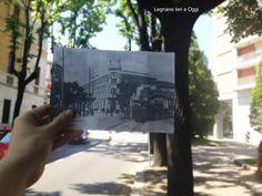 Deborah Corno, Legnano, Tram di Legnano, 1950 e Oggi