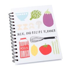 This handy Book includes sections to plan your meals for the week ahead, record your favourite recipes and where to find them (in cookbooks or online) and write your shopping lists ready to tear out and hit the shops.