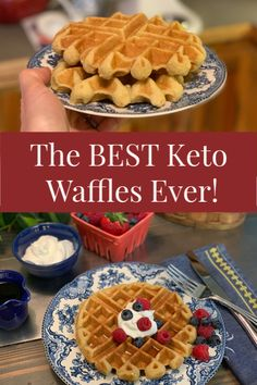 The BEST Keto Waffle Recipe EVER (Tastes Better Than The Real Thing!)