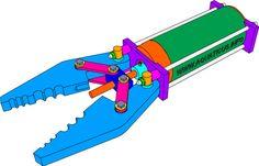 ROV Grabber concept.