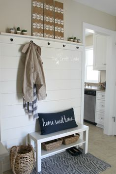 Planked Wall Entry