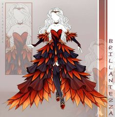 Clothing Sketches, Dress Sketches, Drawings Of Dresses, Fashion Drawing Dresses, Dress Design Drawing, Dress Drawing, Character Costumes, Character Outfits, Drawing Anime Clothes