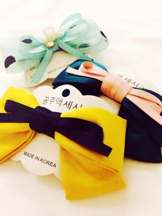 Hair barrettes from Korea