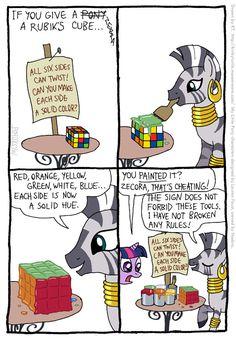 48673+-+artist+KTurtle+comic+rubik%27s_cube+rubix_cube+zecora.jpg 559×806 pixels