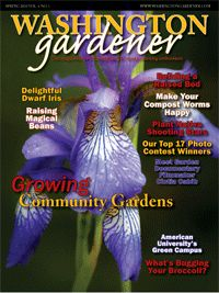 Spring 2010 Washington Gardener Magazine