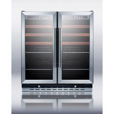 Summit Appliance Dual Zone Built-In Wine Refrigerator & Reviews | Wayfair