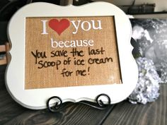 I Love You Because Love Notes Dry Erase Board Wood by amynelly, $32.00