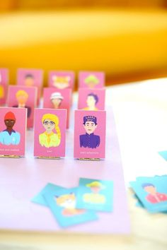 DIY Wes Anderson-themed Guess Who