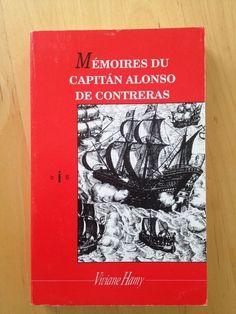 #mémoires #histoire : Mémoires Du Capitan Alonso De Contreras (1582-1633).   Contreras naît à Madrid le 6 janvier 1582, dans une famille très pauvre. À 14 ans, il s'engage dans l'armée. Il va parcourir les terres et les mers, trucider à tour de bras, embrocher des poulets et des hommes, faire un carnage de Turcs, couler des brigantins et des gabarres. Sa vie ressemble à un film de cape et d'épée tourné en technicolor à Hollywood : il sera grand capitaine, puis gouverneur de deux îles, enfin commandeur de l'ordre de Malte ; pour ne pas être en reste, il obtiendra une audience du pape, et rencontrera trois fois le roi d'Espagne.