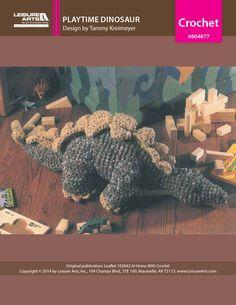 Crochet Playtime Dinosaur eBook