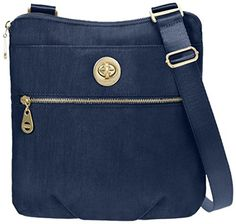 Baggallini Hanover Travel Crossbody Bag Gold Hardware Pacific One Size >>> Find out more about the great product at the image link. (Note:Amazon affiliate link)