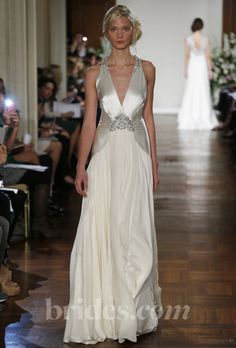 Brides: Great Gatsby Inspired Wedding Dresses | Wedding Dresses | Brides.com | Wedding Dresses Style Jenny Packman