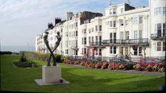 New Steine Gardens #Brighton, #Hove, #photos, #Bovington http://bovingtonbitsandblogs.blogspot.com.es/2013/01/the-city-of-brighton-hove-some-photos.html