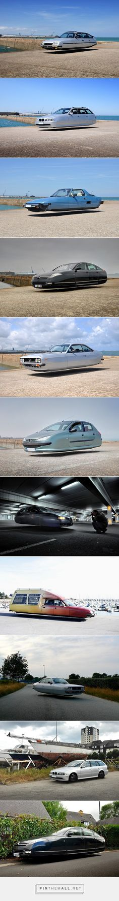 Flying cars on Behance