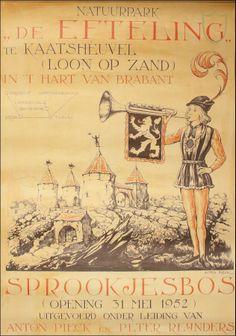 31 mei 1952 - Het sprookjesbos De Efteling in Kaatsheuvel opent voor de eerste maal haar poorten