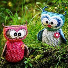 Crochet pattern - Sweet owl by VendulkaM - amigurumi/ crochet toy, digital…