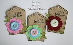 JadeMingmei Designs: Tags Christmas Gift Tags, Christmas Colors, Christmas Ornaments, Card Tags, I Card, Happy Birthday Gifts, Felt Diy, Christmas Traditions, Easy Peasy