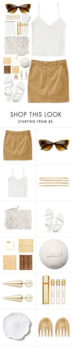 """Tan"" by mplusk ❤ liked on Polyvore featuring Aéropostale, The Kooples, Cara, Alexander Wang, Tory Burch, Bellezza and Dot & Bo"