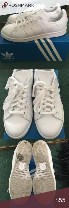 Adidas Stan Smith In good condition. Comes with box. Price is firm. All white. Size is 6.5 in Mens. If you wear a size 7.5 and 8 in Womens, these will fit you. Adidas Shoes Sneakers