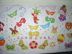 mural carnaval 1 - Atividades para Educação Infantil