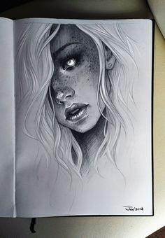 Girl by sashajoe.deviantart.com on @deviantART