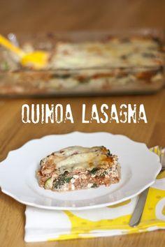 Quinoa Lasagna | My Little Gourmet