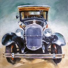 Hey, I found this really awesome Etsy listing at https://www.etsy.com/listing/109397408/truck-oil-painting-antique-truck