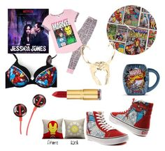 """""""Marvel and Chill..."""" by fabulize on Polyvore featuring Marvel Comics, Isaac Mizrahi, women's clothing, women's fashion, women, female, woman, misses and juniors"""