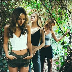 My 3 favorite models! Alexis Ren, Scarlett leithold, and Brianna holly