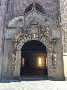 Door to Tycho Brahe Observatory in Copenhagen