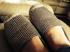 Blingbling shoes.