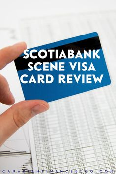 If you like movies, the Scotiabank Scene Visa card might be just the credit card for you. You can earn points for free movies and other entertainment.