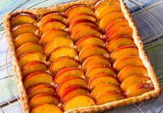 Tarte aux nectarines et palets bretonsVoir la recette de la Tarte aux nectarines et palets bretons >>