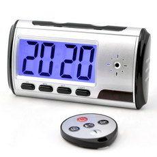 Reloj Despertador Digital Espía HD con Detección Movimiento 4GB