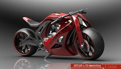 street bike design and 3D modeling