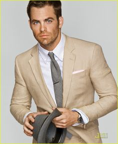 Chris Pine in GQ. Can I get an Amen?